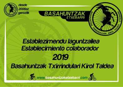 Establecimiento Colaborador Basahuntzak 2019