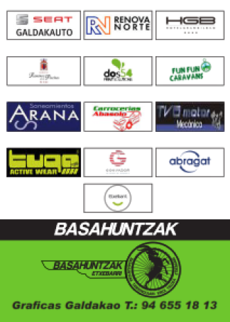 Calendario Cicloturista Basahuntzak