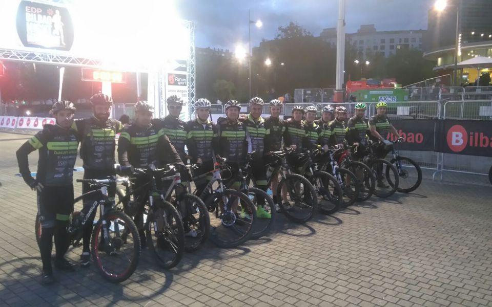 Basahuntzak y la Bilbao Night Marathon