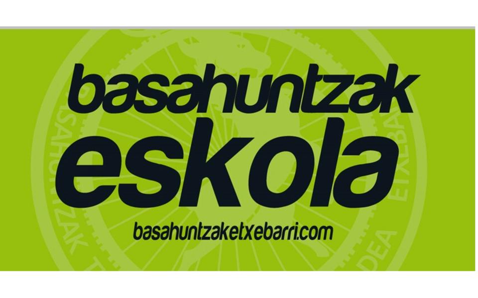 Banderola Basahuntzak Eskola